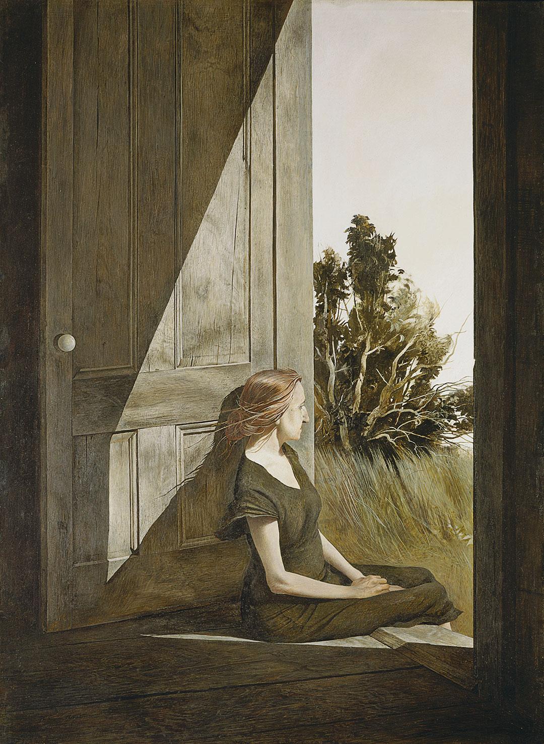 Christina Olson, 1947